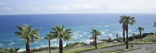 宮崎の海の風景